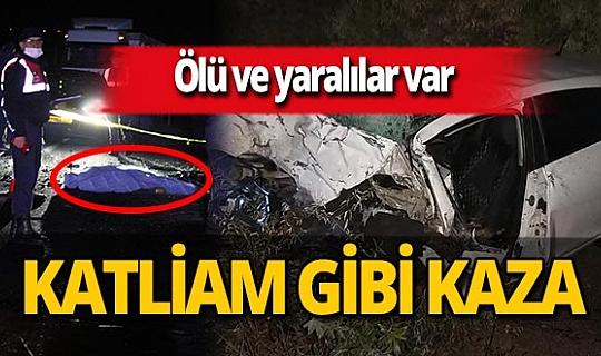 Nevşehir'de korkunç kaza: Çok sayıda ölü ve yaralı var!