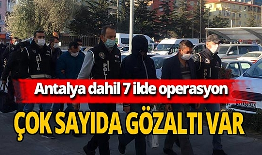 Niğde merkezli 7 ilde FETÖ operasyonu! Gözaltına alınan 25 şüpheliden 9'u adliyeye sevk edildi