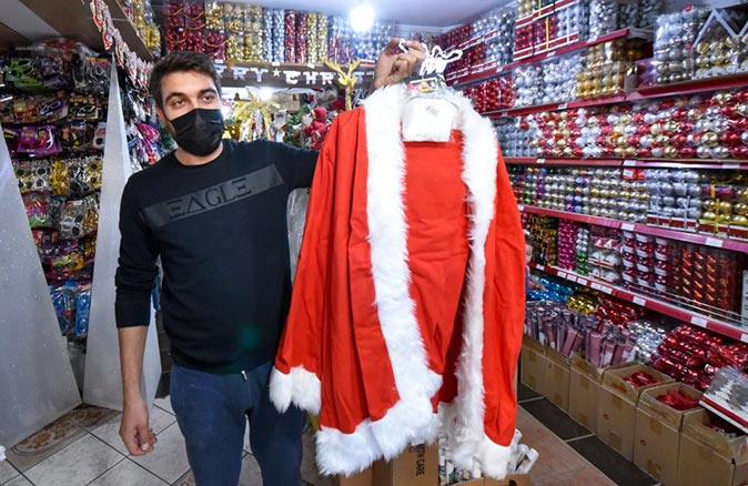 Noel Baba şapkası ve sakalı ne kadar? İşte Noel Baba kostümlerinin fiyatı