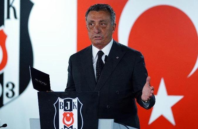 Beşiktaş, Başkan Ahmet Nur Çebi'nin testinin pozitif çıktığını açıkladı