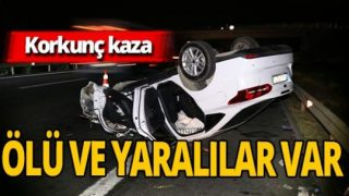 Osmaniye'de araçlar birbirine girdi! 2 ölü 9 yaralı