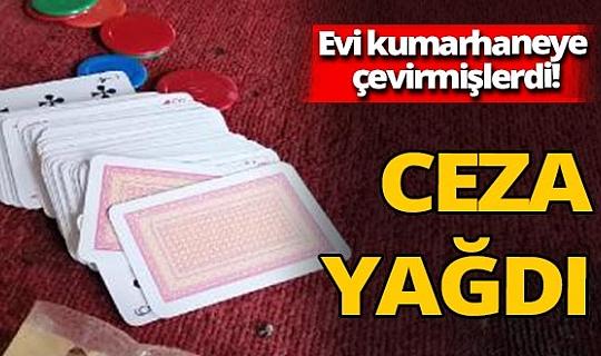 Osmaniye'de kumarhaneye çevrilen eve baskın! Ceza yağdı