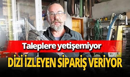 Osmanlı kılıçlarına büyük ilgi!  Muammer Tural talebe yetişemiyor