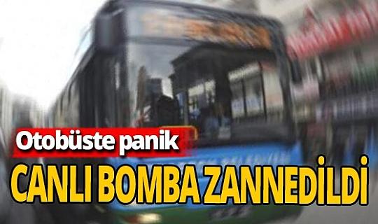 Otobüste canlı bomba paniği: Şüpheli akıl sağlığı testi için hastaneye sevk edildi