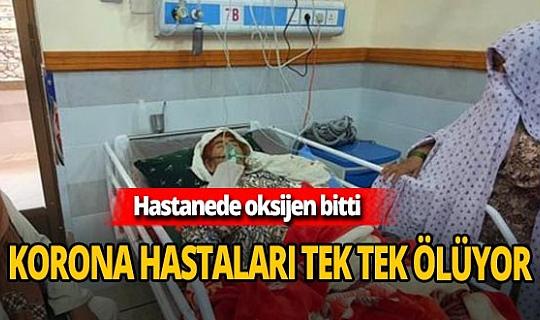 Pakistan'da hastane alarm verdi! Korona hastaları ölüyor