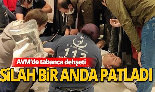 Park Afyon AVM'de tabanca dehşeti