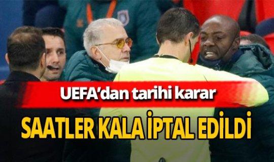 Pierre Webo'nun gördüğü kırmızı kart UEFA tarafından iptal edildi