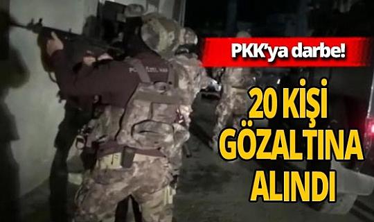 PKK'nın sözde 'yasama' organına darbe!