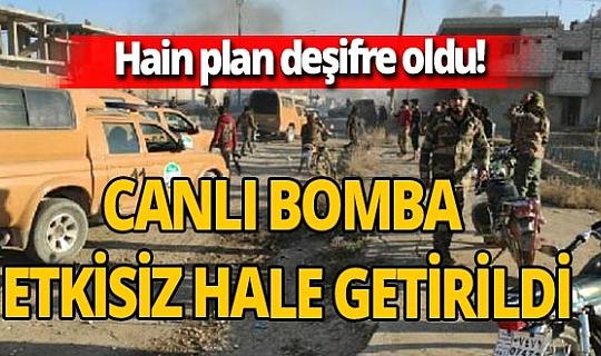 PKK/YPG'nin kontrol noktalarına saldırı planı deşifre oldu! Canlı bomba etkisiz hale getirildi