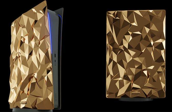 Bu PlayStation'da 18 kilo altın var!