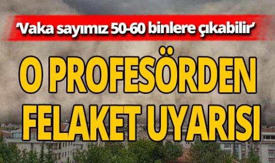 Prof. Dr. Ahmet Cemal Saydam'dan önemli uyarı: 'Pencerenizi bile açmayın!'