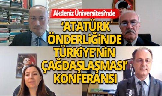 """Prof. Dr. Derviş Kılınçkaya : """"Gazi Mustafa Kemal Atatürk Türk Gençliğine En Önemli Modeldir"""""""