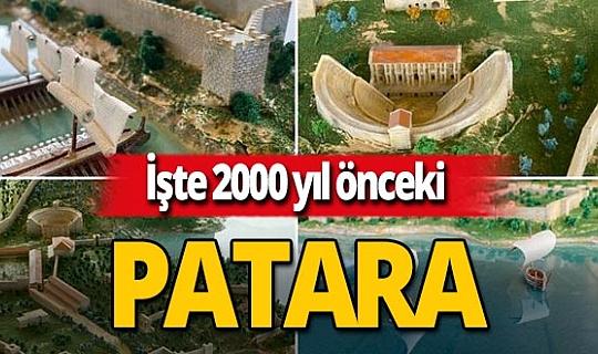 Prof. Dr. Havva İşkan Işık paylaştı: Patara'nın maketi tamamlandı