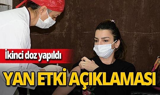 """Prof. Dr. Mustafa Kemal Çelen: """"Yan etki bildirimi yok"""""""