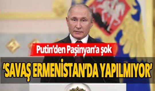 Rusya Devlet Başkanı Putin, Ermenistan'a tüm kapıları kapattı