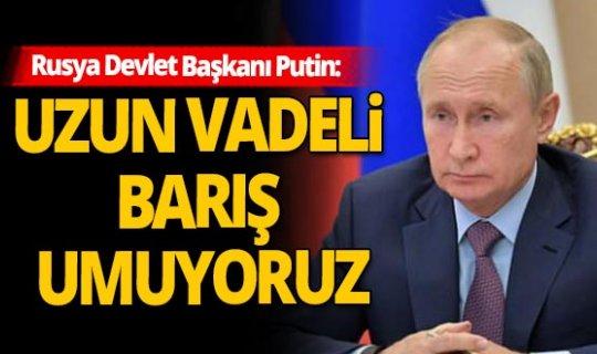 Rusya Devlet Başkanı Vladimir Putin'den Azerbaycan açıklaması