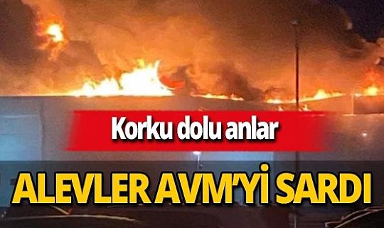 Rusya'nın Ryazan kentindeki bir AVM'de yangın çıktı