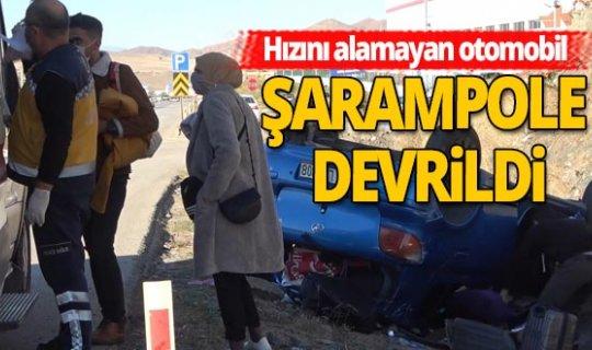 Samsun-Ankara D-200 Karayolu'nda feci kaza