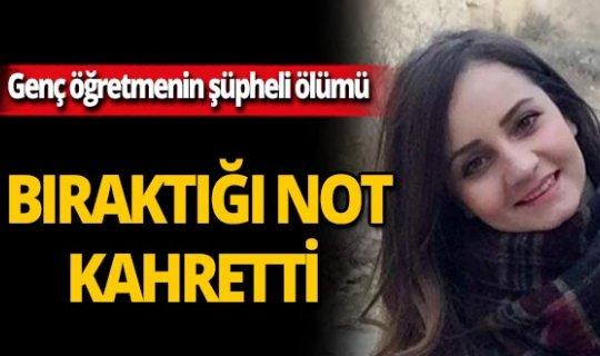 Samsun'da Kübra öğretmen arkadaşının evinde ölü bulundu