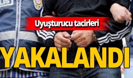 Samsun'da uyuşturucu operasyonu! 6 şüpheli yakalandı