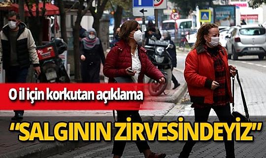 """Samsun İl SağlıkMüdürü Dr. Öğretim Üyesi Muhammet Ali Oruç:  """"Salgının zirvesindeyiz"""""""