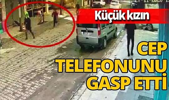 Şanlıurfa'da küçük kızın telefonunu gasbeden şüpheli tutuklandı