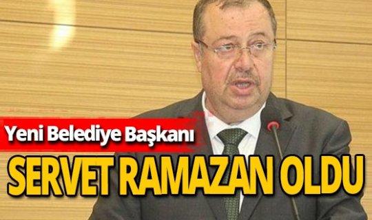 Servet Ramazan yeni Kilis Belediye Başkanı oldu