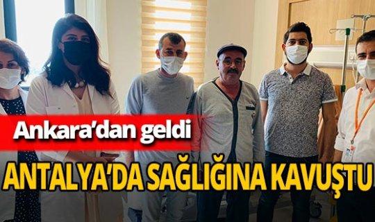Sezai Karaca sağlığına Antalya'da kavuştu