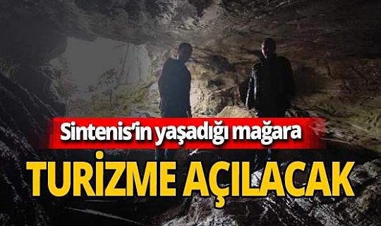 Sintenis'in yaşadığı mağara turizme açılacak