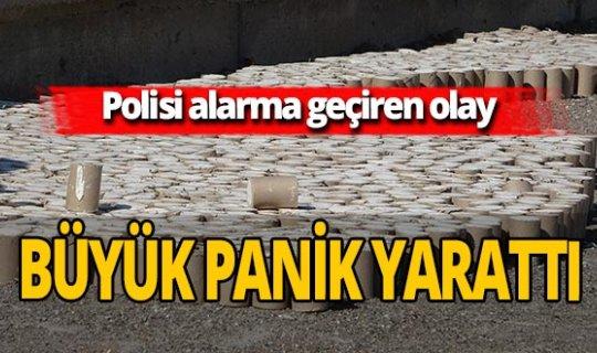 Sivas'ta 'dinamit' paniği! Polis alarma geçti