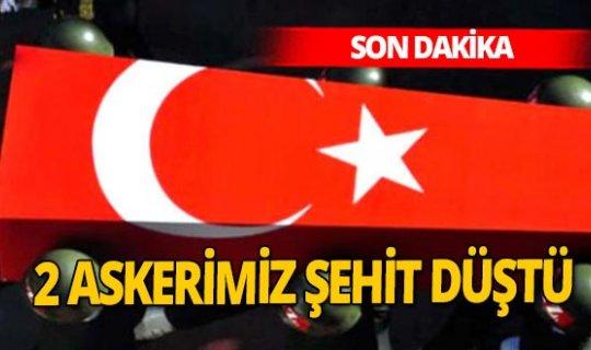 Son Dakika! 2 askerimiz şehit oldu, 6 askerimiz yaralandı