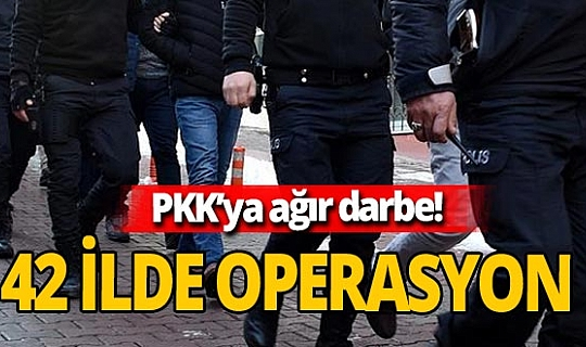 Son dakika! 42 ilde terör operasyonu! 641 kişi gözaltına alındı