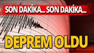 Son dakika! Ağrı'da deprem oldu!