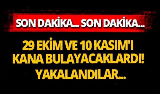 Son dakika! Ankara'da büyük operasyon! 7 DEAŞ'lı yakalandı