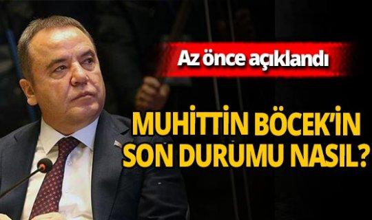 Son dakika! Antalya Büyükşehir Belediyesi açıkladı! İşte Muhittin Böcek'in son durumu!