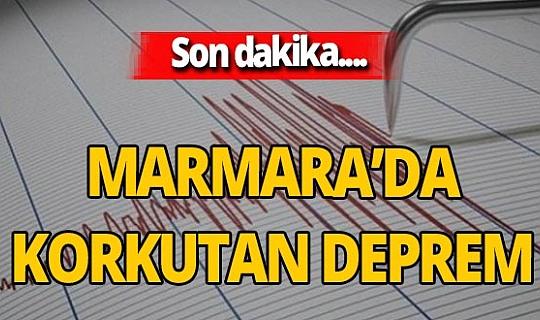 Son dakika! Balıkesir'de korkutan deprem