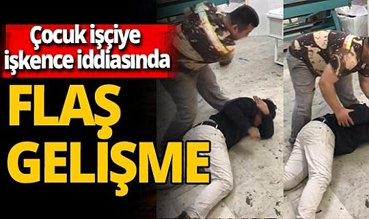İstanbul'da beyin ameliyatı geçirmiş çocuk işçiye dayak ve işkence iddiasında flaş gelişme