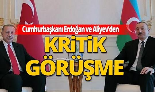 Son dakika! Cumhurbaşkanı Erdoğan, Aliyev ile telefonda görüştü