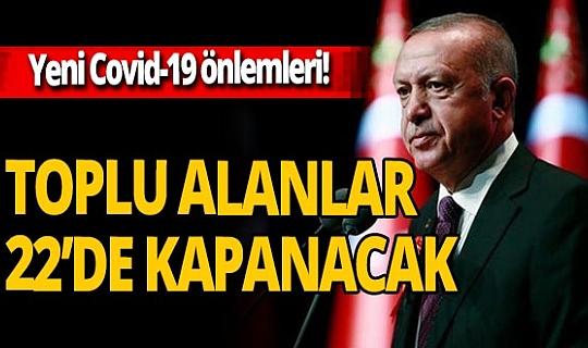 Son dakika: Cumhurbaşkanı Erdoğan açıkladı! İşte yeni koronavirüs tedbirleri
