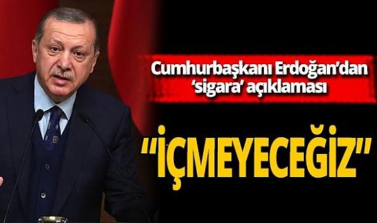 """Son dakika! Cumhurbaşkanı Erdoğan: """"Dünyada sözünü dinleten bir Türkiye var"""""""