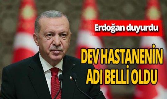 Son dakika! Cumhurbaşkanı Erdoğan'dan Tekirdağ Şehir Hastanesi açıklaması!