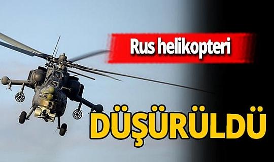 Son dakika! Ermenistan'dan ateşlenen füze Rus helikopterini düşürdü!