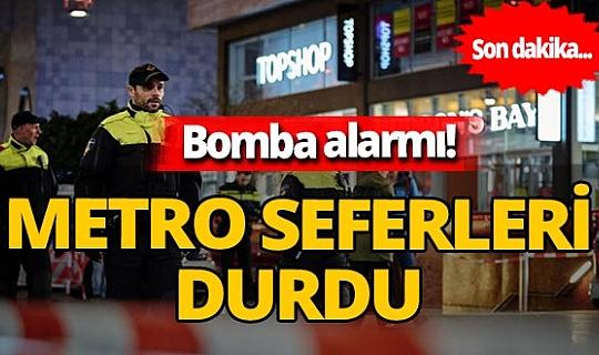 SON DAKİKA! Hollanda'da 'bomba' alarmı! Metro seferleri durdu