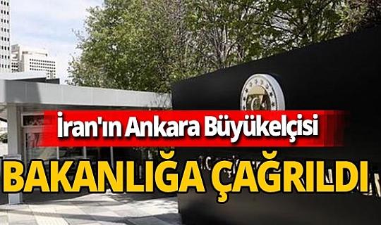 Son dakika! İran'ın Ankara Büyükelçisi Muhammed Ferazmend Dışişleri Bakanlığı'na çağırıldı