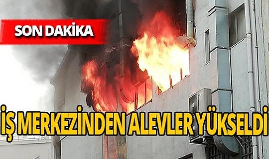 Son dakika! İstanbul Kağıthane'de yangın çıktı!