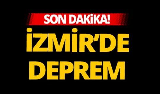 Son dakika! İzmir'de yeni bir deprem