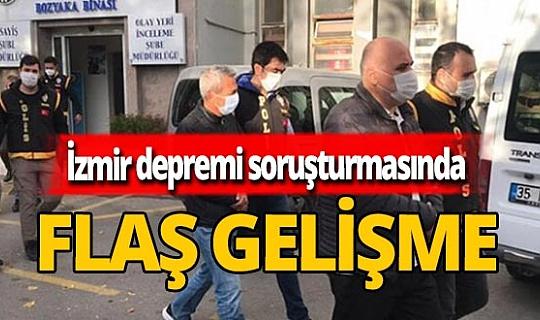 Son dakika! İzmir depremi soruşturmasında flaş gelişme