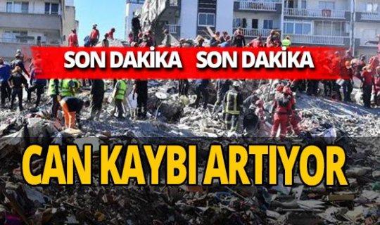 SON DAKİKA! İzmir depreminde can kaybı 83 oldu