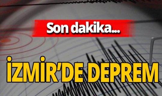 SON DAKİKA! İzmir yine sallandı!