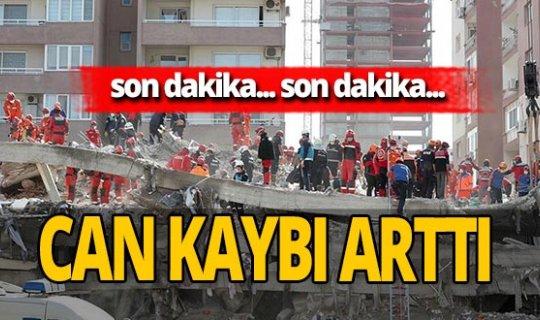 SON DAKİKA! İzmir'deki depremde can kaybı sayısı yükseldi